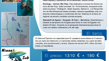 Viaje a Mar Rojo 2015